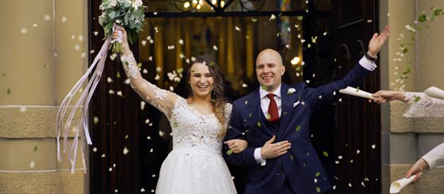 Wiola i Maciek teledysk ślubny Dwór w Brzeznej